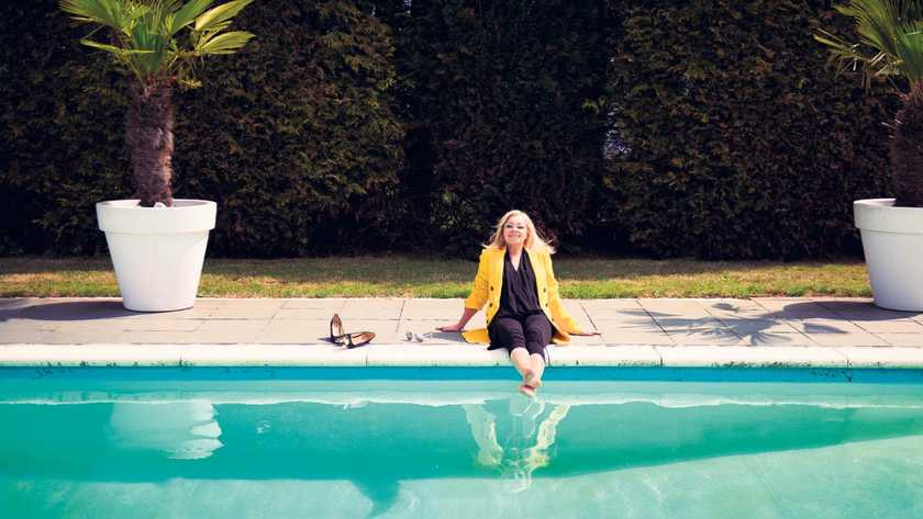 Corry Konings zwembad